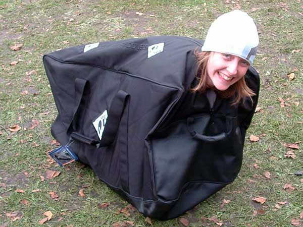 Emma Runciman ready to travel