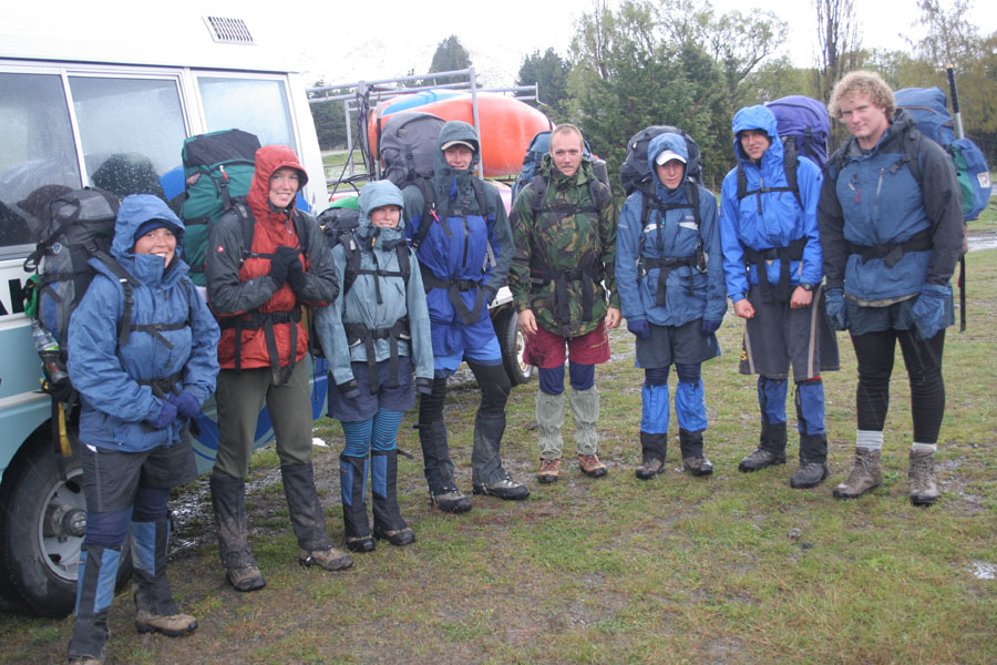 Expedition team