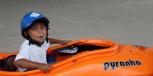 Ecuadorian Kid in Small Burn