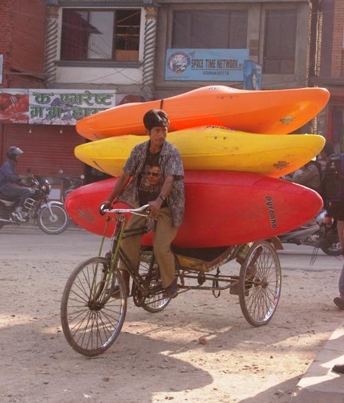 Transport in Thamel