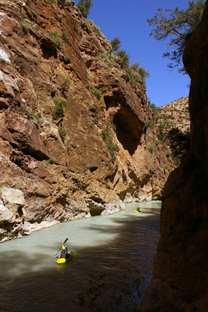 Moroccan gorges