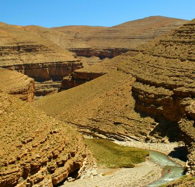 The First Gorge of the Dades