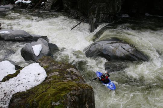 Matt Compass Ashlu Box Canyon, BC