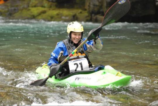 Nicole Rose Kayaking
