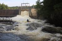 Brad at the Taylorsville dam