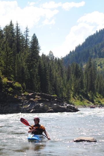 Varun on Snake River
