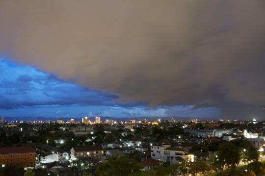 Thunder cloud's in Chiang Mai - Photo Jake Holland