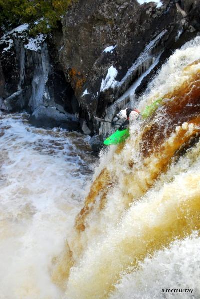 Illgen Falls, Baptism River, MN.