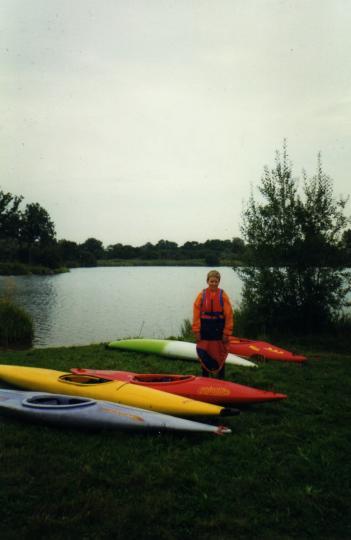 Stuart-Watson-Worthing-Pit-with-Dereham-Canoe-Group-1997