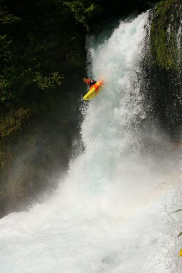 Dropping Spirit falls