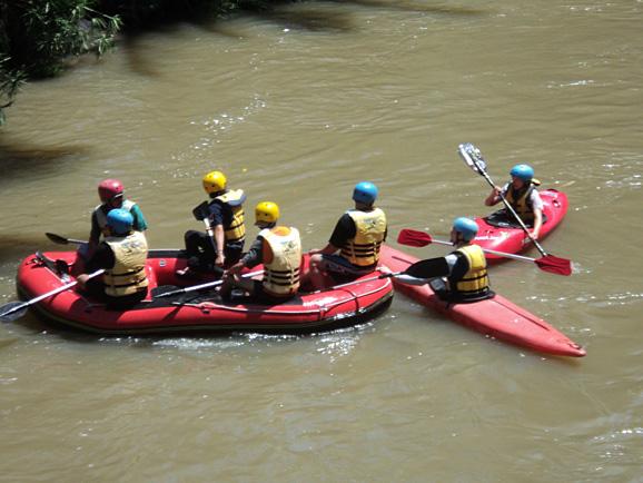 The Nimanga river in Sulawesi