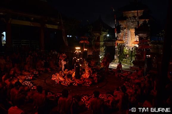 Kecak fire dance - Bali