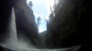 In the canyon below Metlako.
