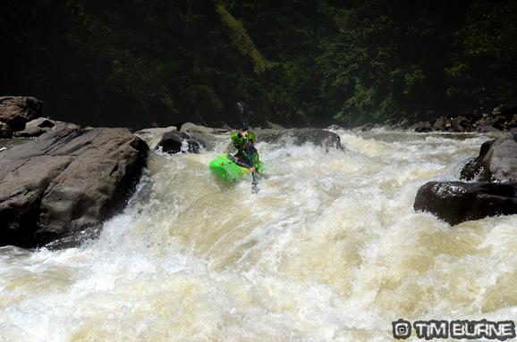 Another fun rapid on the Masupu River