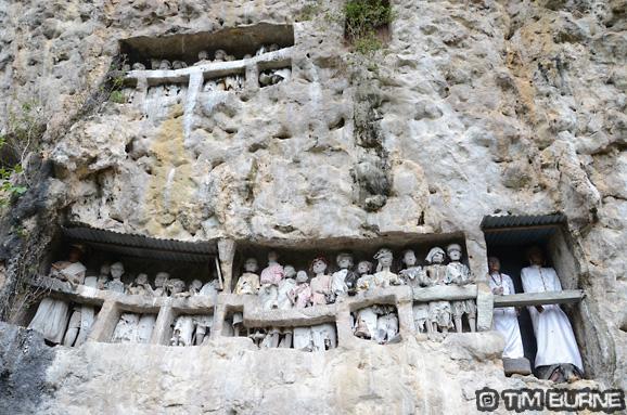 Torajan Graves in Sulawesi