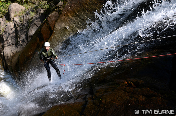 Canyoning - an alternative if you fancy a break from the rivers!