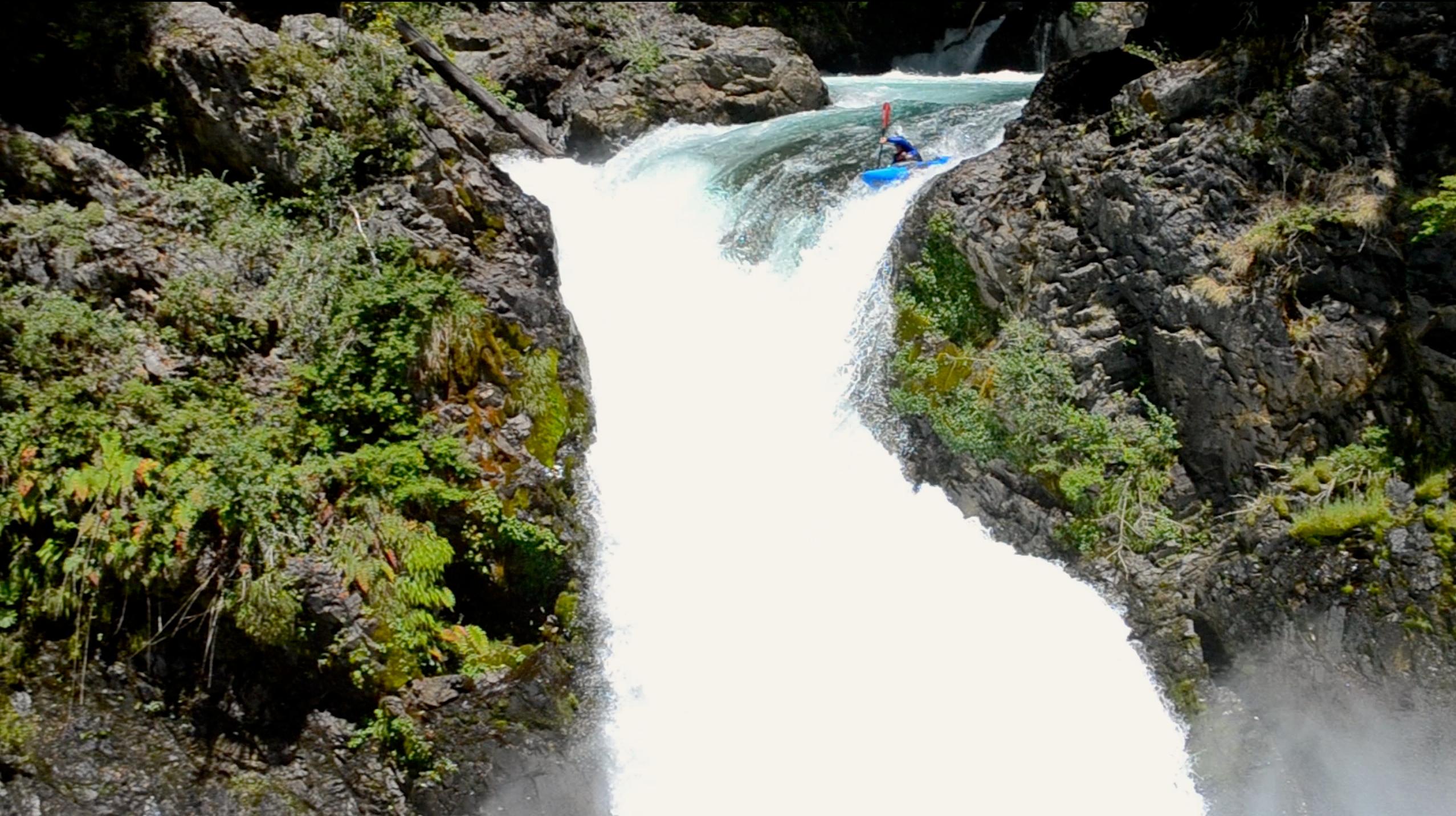 Salto Alerces! One of my favorite waterfalls