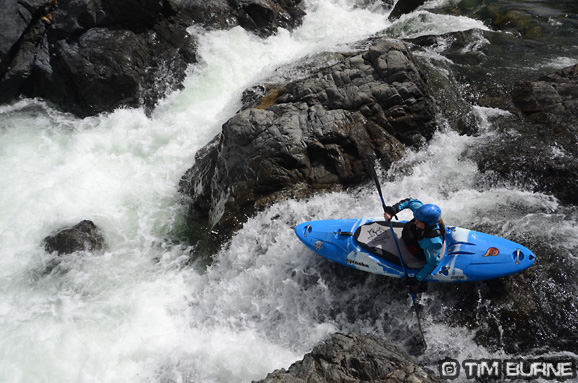 Dropping in on the Aoos river