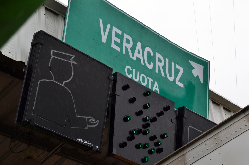 Veracruz sign by EA
