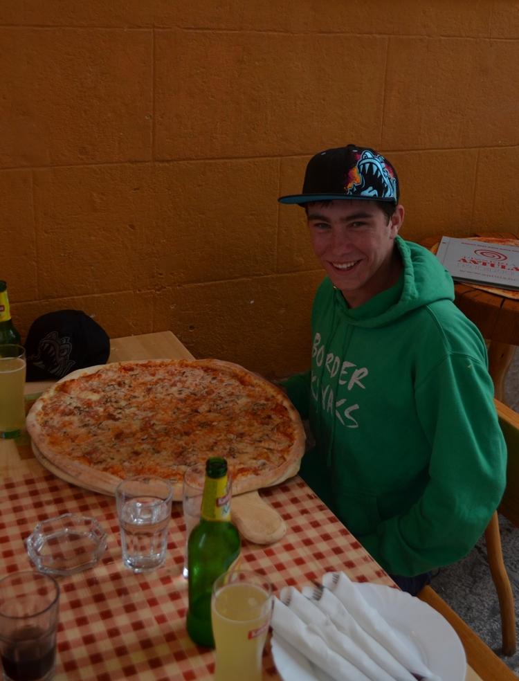 Massive Pizzas!