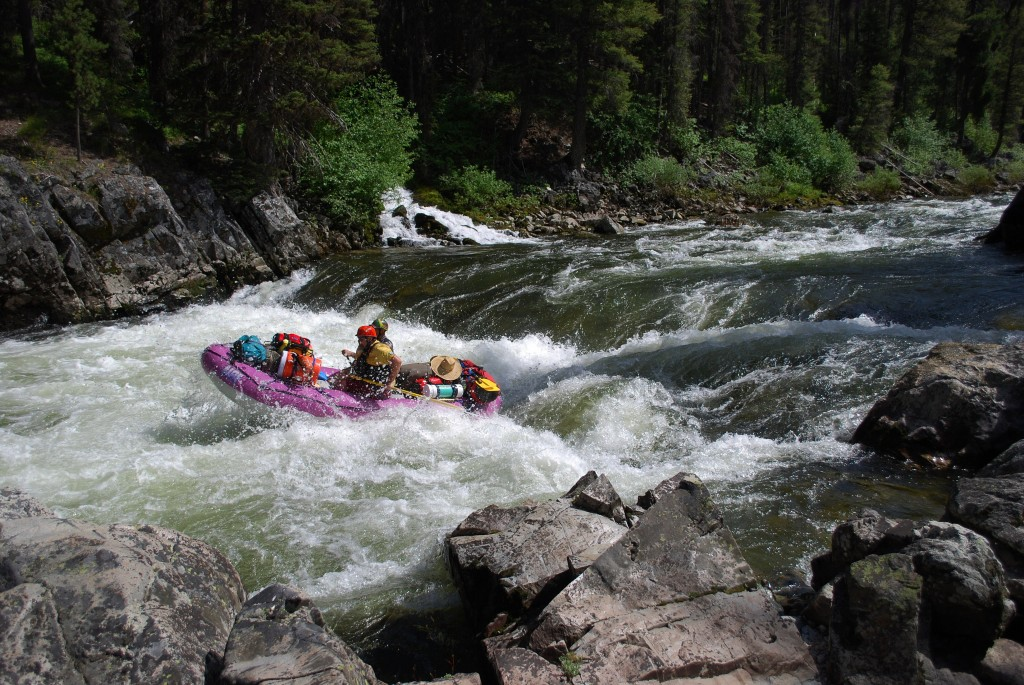 Rafting Velvet Falls