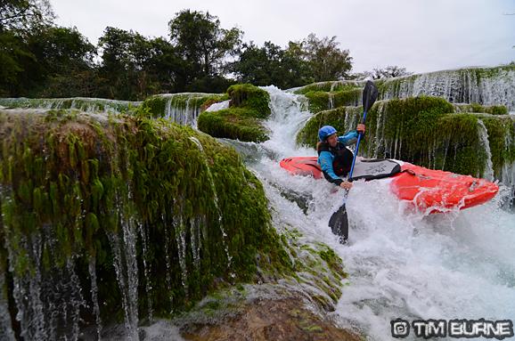 Just like paddling through ornamental gardens!