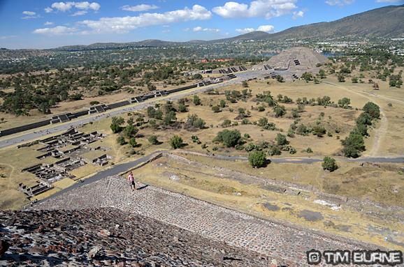 Teotithuacan near Mexico City