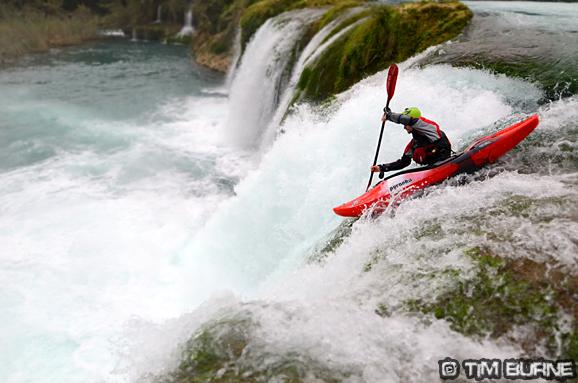 The main event on the El Salto river