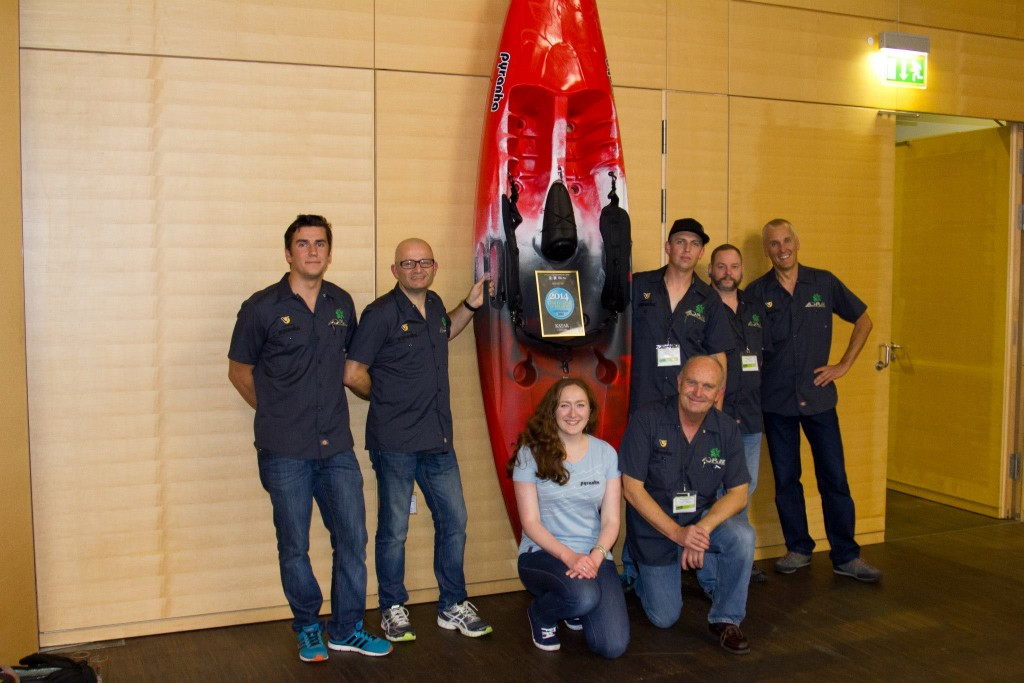 Fusion SOT Wins 'Coolest Gear of the Show' at PaddleEXPO 2014