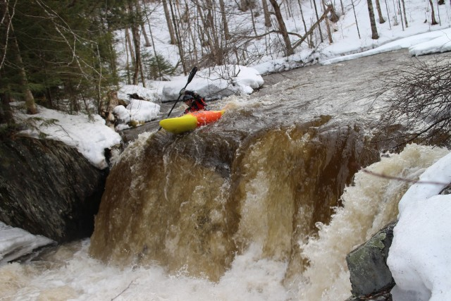 Early Spring run on the North Branch of The Winooski.  Photo: Rogan Brown