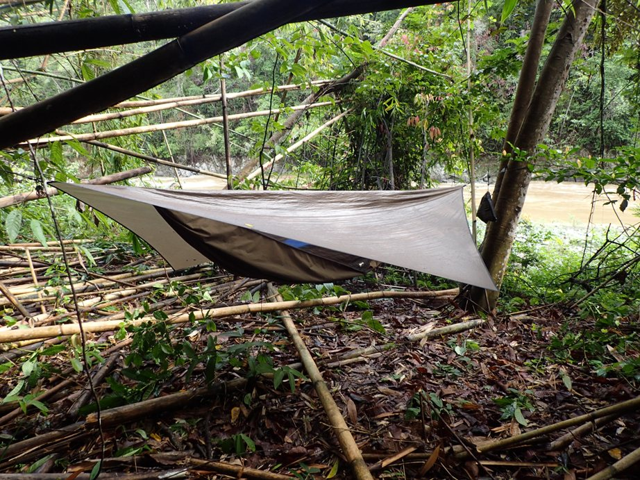 Overnight camp on the Lairiang