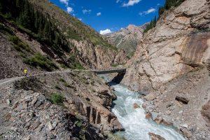 Small Naryn river
