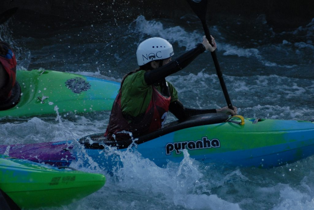 eebcdebe137f6 Pyranha also sponsored whitewater clinics over the weekend. On Saturday,  Chris Hipgrave ran a Whitewater Racing clinic, which was perfectly timed to  run ...