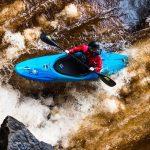 David Bain paddling a Scorch Large in Blue Crush
