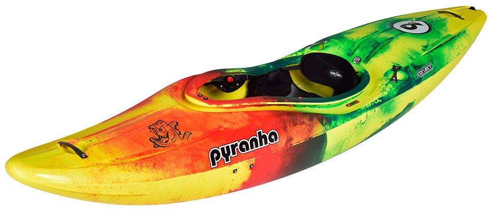 Pyranha 9R Yellow Red Green