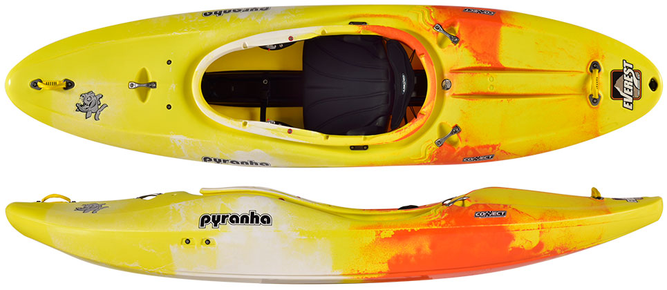 Pyranha Everest Yellow White Jaffa
