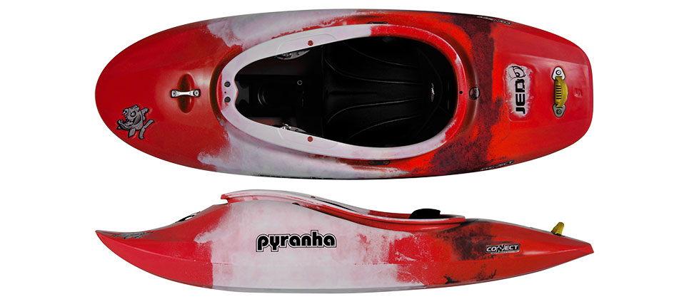 Pyranha Jed red white grey