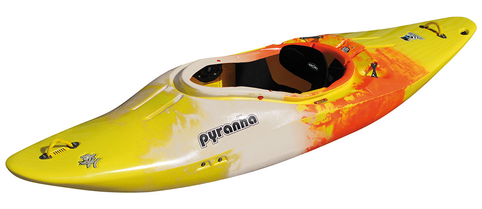 Pyranha Z.One Yellow Jaffa White